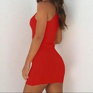 Dresses & Skirts - red summer bodycon dress